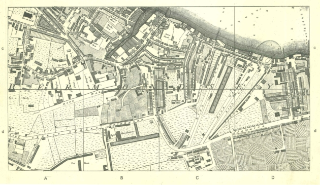 Horwood map of London, 1819 edition