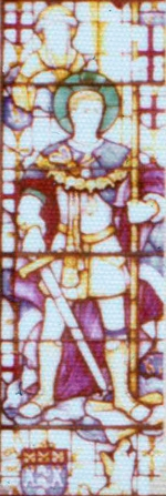 Little Dorrit Stained Glass Window