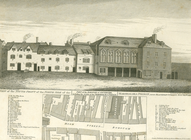 Marshalsea Prison 1812