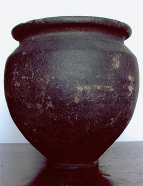 Roman funerary urn (C14053)