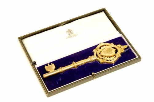 Sceaux Gardens ceremonial key (LDCUM1983.002.003)
