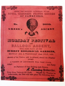 Surrey Zoological Gardens Balloon Ascent Ticket (Mr Green)