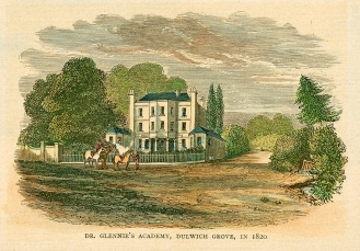 Dr Glennie's Academy in 1820