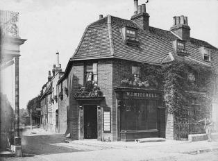 Dulwich Village c.1874