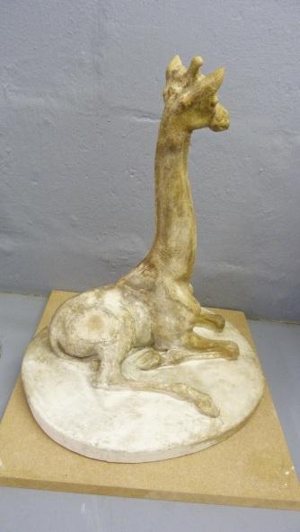Surrey Gardens Giraffe (C06442) conserved