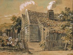 Painting of Peckham Rye, c.1815 by John Brompton Cuming (GA1434)
