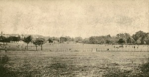 Postcard of Peckham Rye, c.1900 (PC01503)