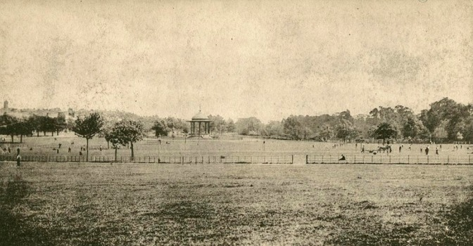 Postcard of Peckham Rye, c.1900 (PC01503)