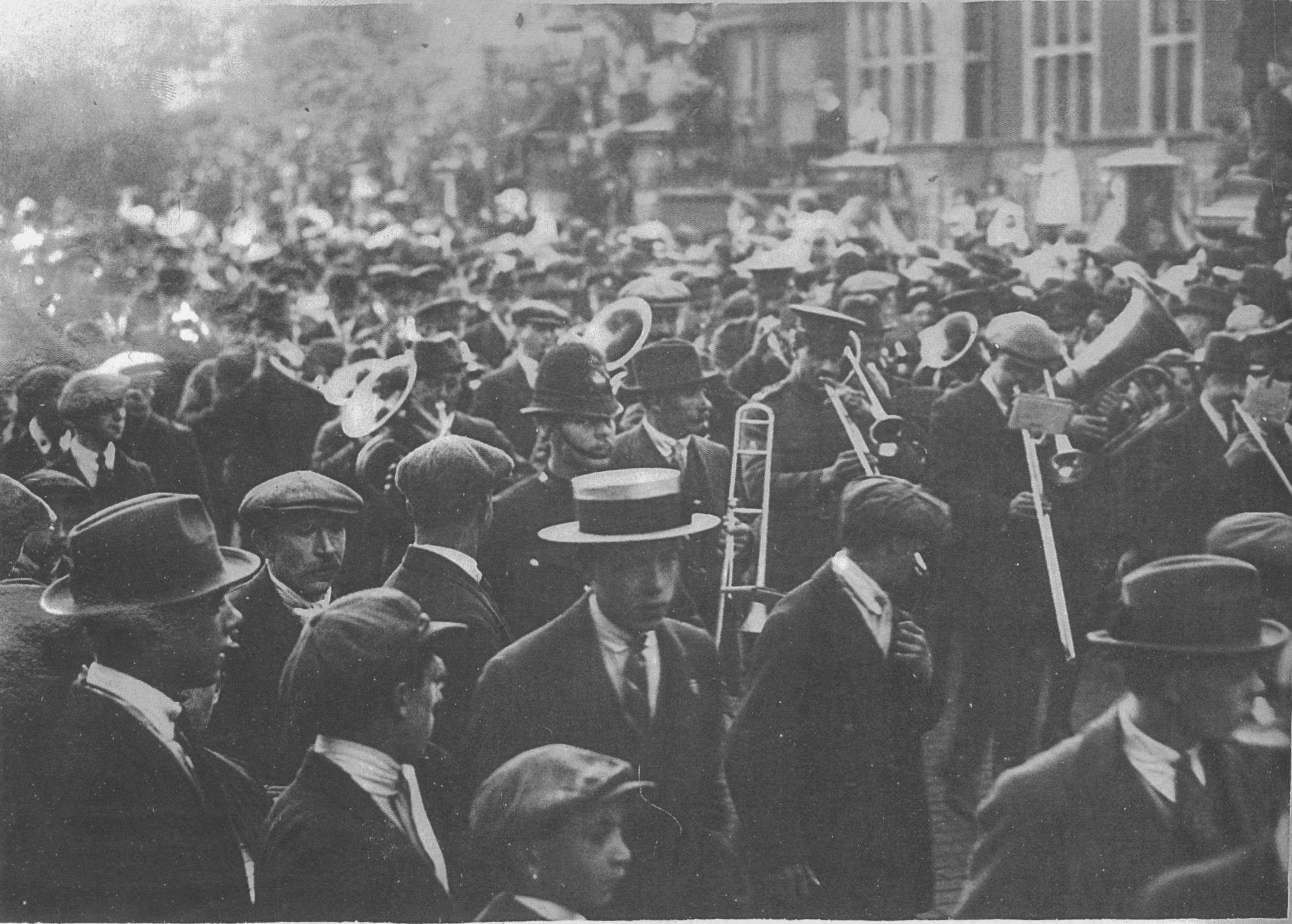 Camberwell during the First World War (p22945)