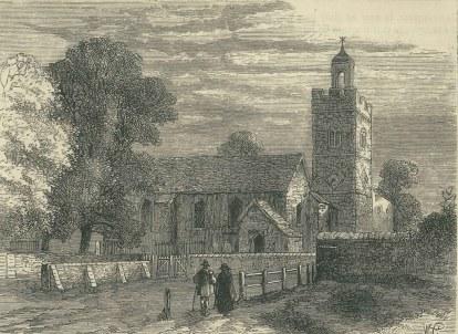 St Giles Cambwerwell 1750