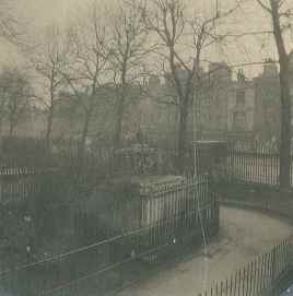 St Mary's Churchyard before redevelopment