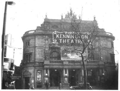 Kennington theatre 1933