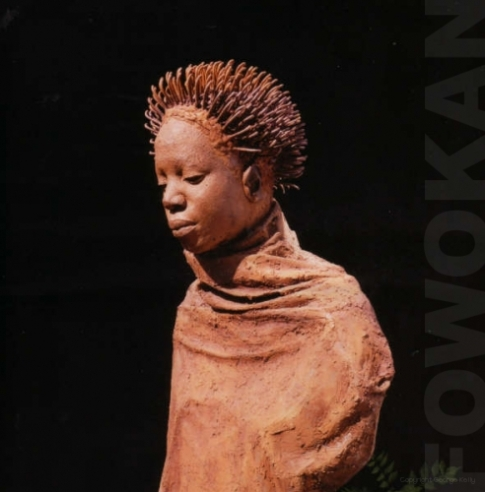 Sculptures by George 'Fowokan' Kelly