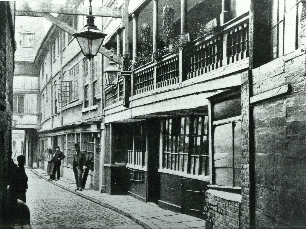 George Inn 1889 p18794