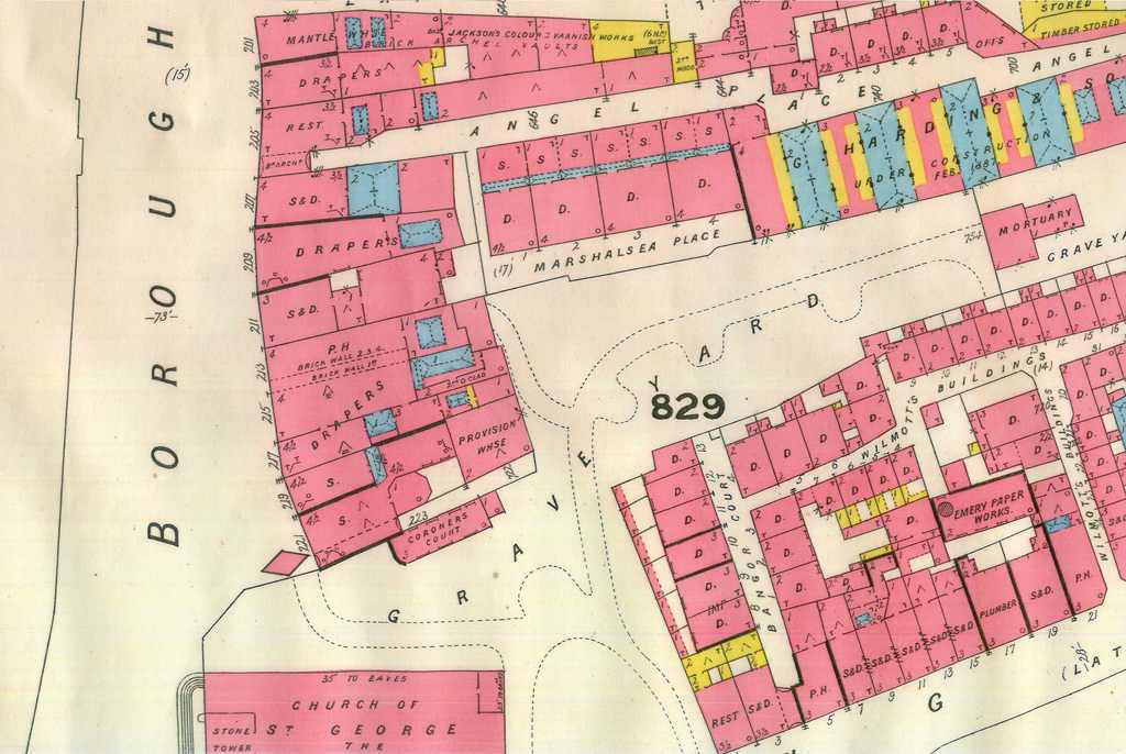 Marshalsea Goad plan