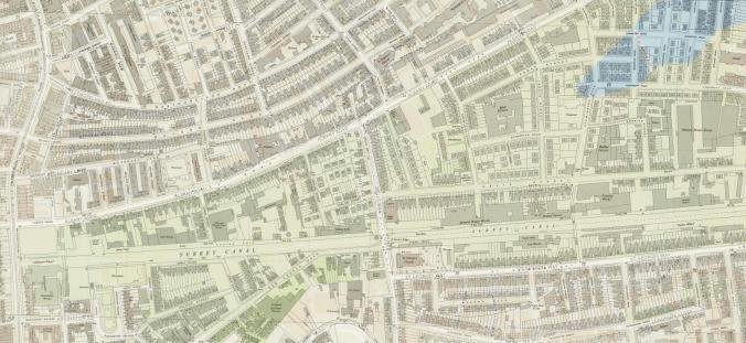 1. Burgess Park map
