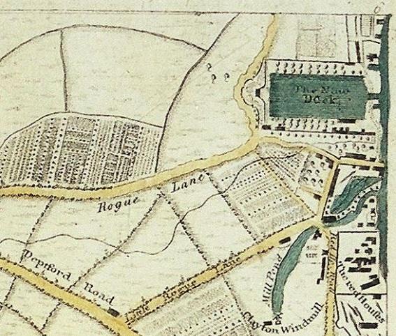 10. 1761 map