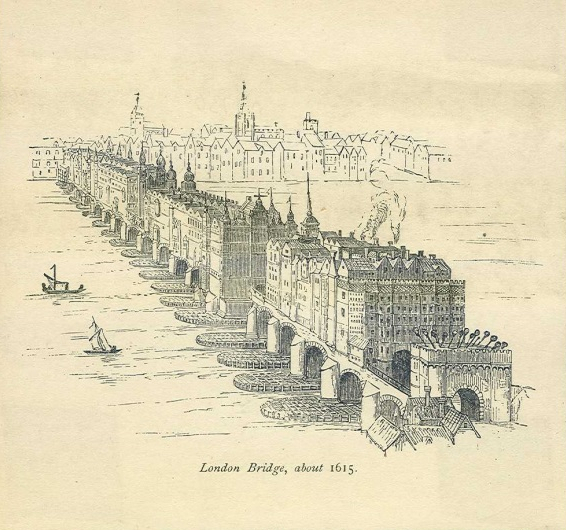 London Bridge 1607