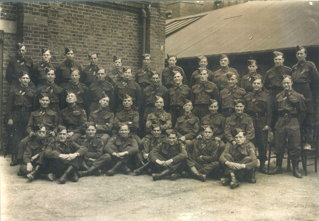 P21581 Walworth Home Guard Braganza St 1942