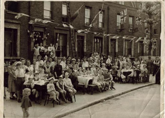 Ve day party Southwark Park Road Bermondsy