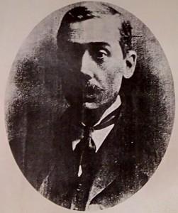 Portrait of camera maker Louis Gandolfi, taken c.1900